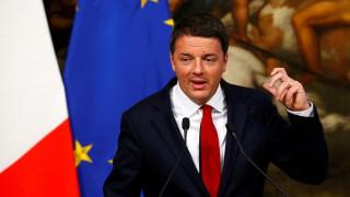 Ρέντσι: Αυτονόητη η θέση των Σόιμπλε-Σταϊνμάιερ υπέρ των μεταρρυθμίσεων