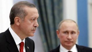 Νέα τηλεφωνική επικοινωνία Πούτιν-Ερντογάν για τη Συρία