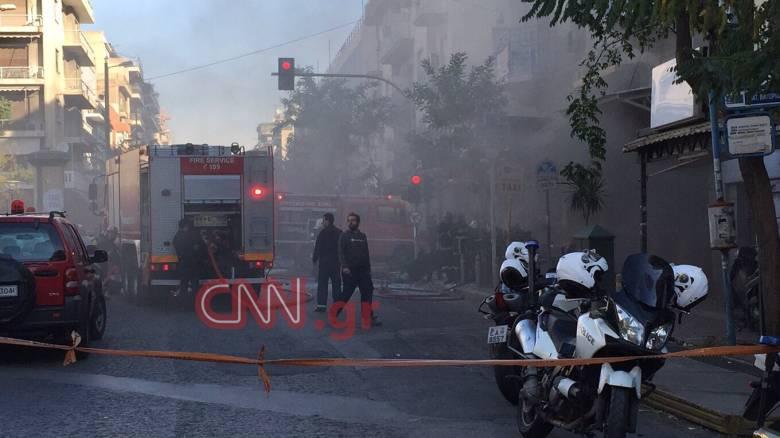 Έκρηξη στην πλατεία Βικτωρίας: Οι πρώτες εικόνες