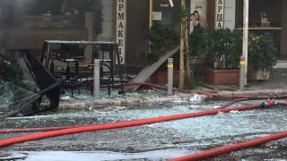 Έκρηξη στην Πλατεία Βικτωρίας: Βίντεο από το σημείο
