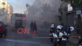 Έκρηξη στην πλατεία Βικτωρίας: Αυτόπτης μάρτυρας μιλά στο CNN Greece