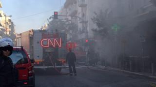 Έκρηξη στην πλατεία Βικτωρίας: Μία νεκρή, πέντε τραυματίες