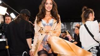 Ιρίνα Σάικ: έγκυος και σέξι στο τελευταίο της Victoria's Secret σόου