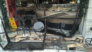 Τι προκάλεσε την έκρηξη στην πλατεία Βικτωρίας