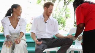Οι Rihanna & πρίγκιπας Χάρι κάνουν τεστ για HIV
