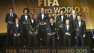 Μέσι, Ρονάλντο και Γκριεζμάν η τριάδα για τον κορυφαίο της FIFA
