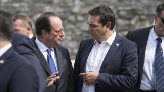 Ολοκληρώθηκε η συνάντηση Αλέξη Τσίπρα - Φρανσουά Ολαντ