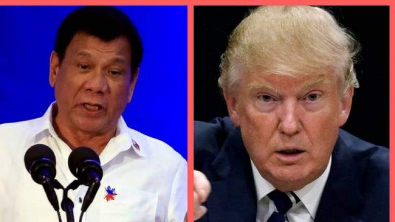 Ντουτέρτε: Ο Τραμπ θα είναι ένας καλός πρόεδρος (vid)