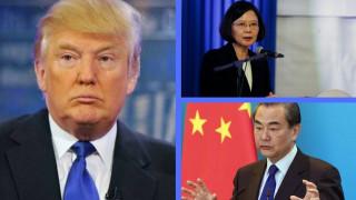 Οργισμένη αντίδραση της Κίνας για την επικοινωνία του Τραμπ με την πρόεδρο της Ταϊβάν