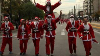 Athens Santa Run: Κυκλοφοριακές ρυθμίσεις στην Αθήνα