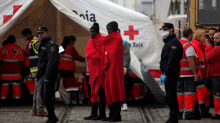 Διάσωση 92  μεταναστών στα ανοικτά των ισπανικών ακτών