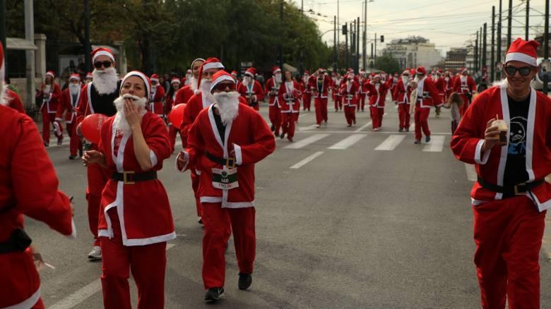 Κυκλοφοριακές ρυθμίσεις λόγω του Athens Santa Run