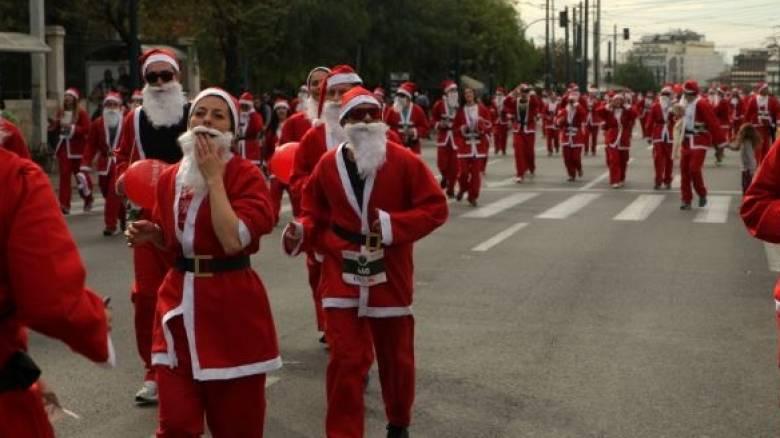 Ποιοι δρόμοι κλείνουν στην Αθήνα λόγω του «Athens Santa Run»