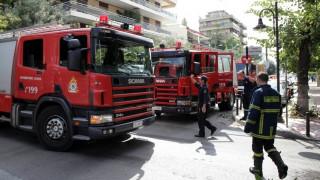 Πυρκαγιά σε σπίτι και σούπερ μάρκετ στις Σέρρες