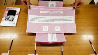 Δημοψήφισμα Ιταλία: Σχετικά υψηλή η συμμετοχή – Ψήφισε o Μ. Ρέντσι