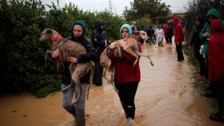 Μία 26χρονη νεκρή από τις πλημμύρες στην Ισπανία