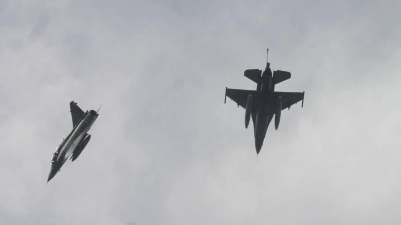 Βίντεο - ντοκουμέντο με πραγματική αερομαχία πάνω από το Αιγαίο (Vid)