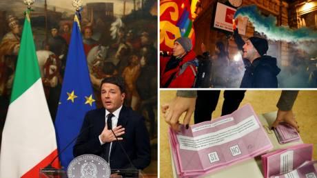 Δημοψήφισμα Ιταλία: Τα τρία σενάρια μετά το «Όχι»