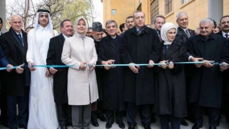 Ο Γ.Παπανδρέου μαζί με τον Ερντογάν σε εγκαίνια στην Τουρκία