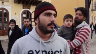 Πρόσφυγες εγκλωβισμένοι στο Καστελόριζο (vid)