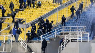 Super League: Επεισόδια και διακοπή στο Ηρακλής-ΠΑΣ Γιάννινα