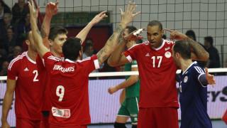 Α1 βόλεϊ: σπουδαία νίκη του Ολυμπιακού επί του ΠΑΟ σε ματς διαφήμιση