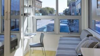 Μέσα στα μικροσκοπικά διαμερίσματα για τους αστέγους του Σαν Φραντσίσκο (vid & pics)