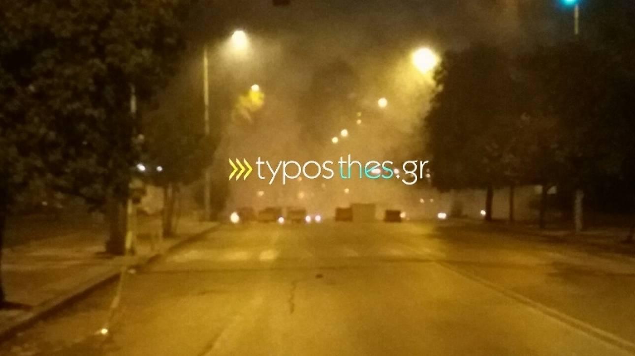 Αλέξης Γρηγορόπουλος: Καίνε κάδους στη Θεσσαλονίκη [pics]