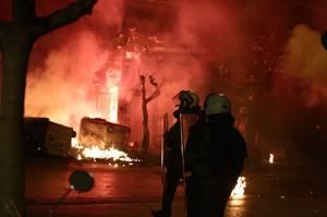 Επέτειος Γρηγορόπουλου: Φωτογραφίες από τα επεισόδια
