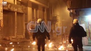 Επέτειος Γρηγορόπουλου: Βίντεο ντοκουμέντο από τα επεισόδια στα Εξάρχεια