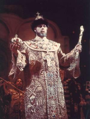 """Όπερα """"Μπορίς Γκοντουνόφ"""" του Μ. Μουσόργκσκι. Στον πρωταγωνιστικό ρόλο ο Α. Π. Ογκνίφτσεφ. Από τη συλλογή του Μουσείου του Θεάτρου Μπολσόι της Ρωσίας"""