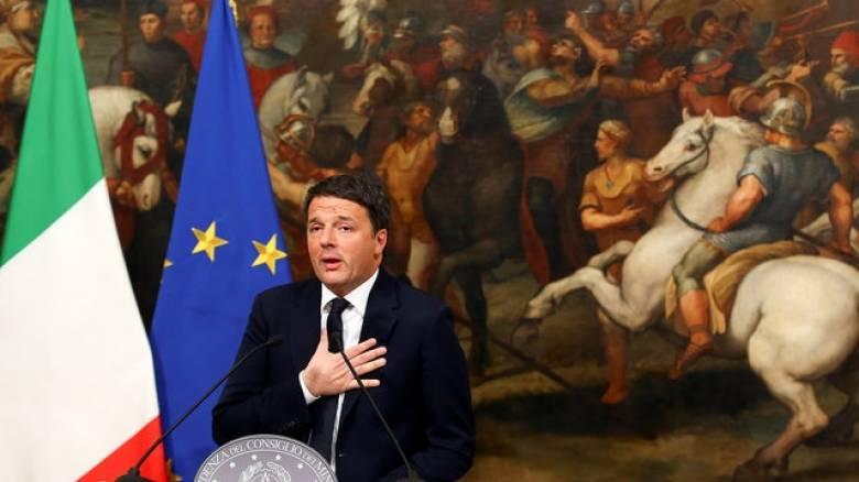 Δημοψήφισμα Ιταλία: Απόψε η παραίτηση του Ρέντσι