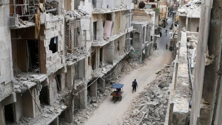 Συγκλονιστικό βίντεο από τα χαλάσματα στο Χαλέπι