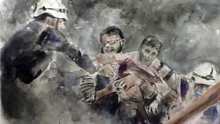 Τα παιδιά ζωγραφίζουν τους αφανείς ήρωες του συριακού εμφυλίου
