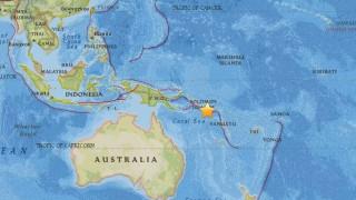 Ισχυρότατος σεισμός στις Νήσους του Σολομώντα