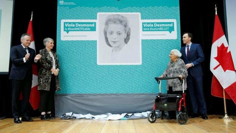 Η Βαϊόλα Ντέσμοντ πρώτη Καναδή που θα «κοσμήσει» χαρτονόμισμα