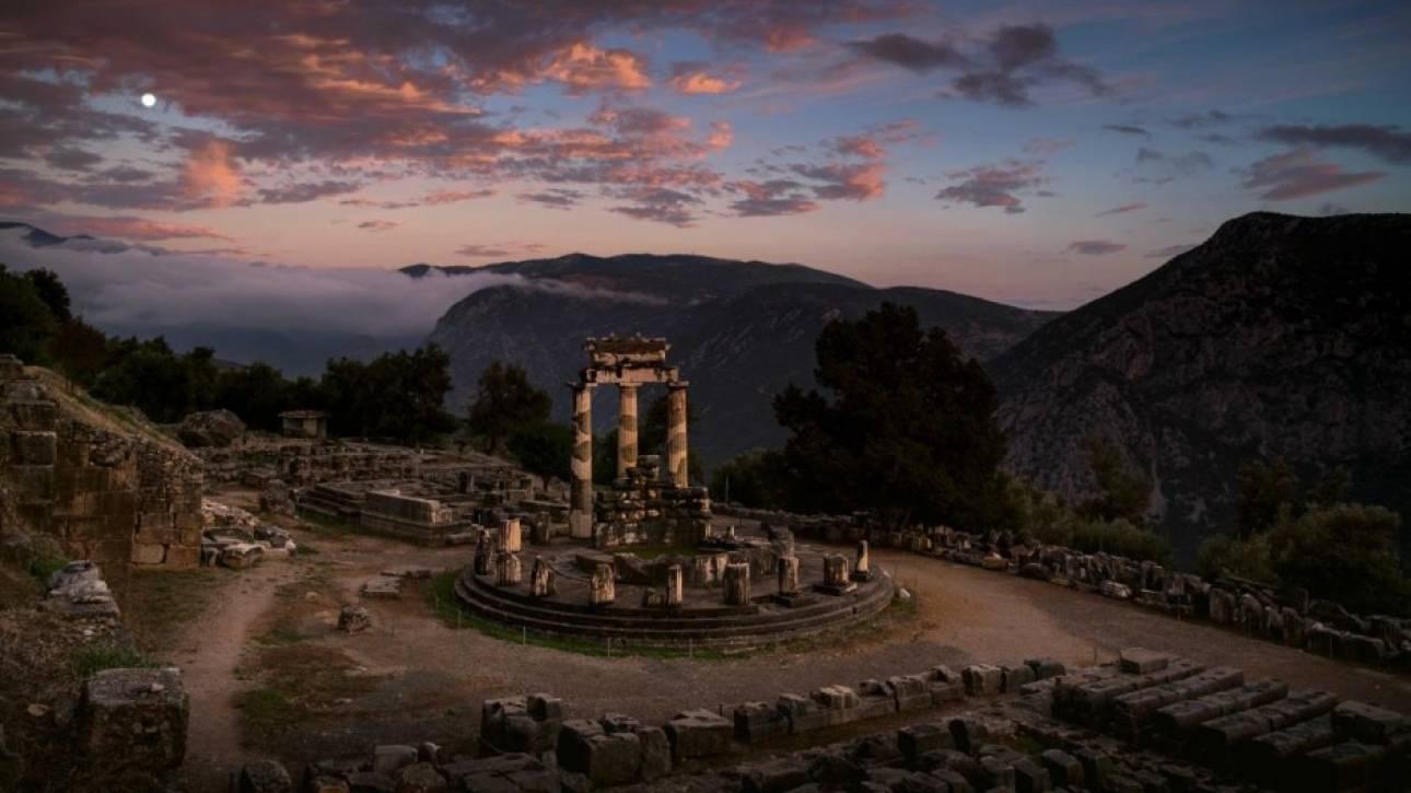 Το National Geographic αποθεώνει τη Θόλο της Αθηνάς Προναίας στους Δελφούς