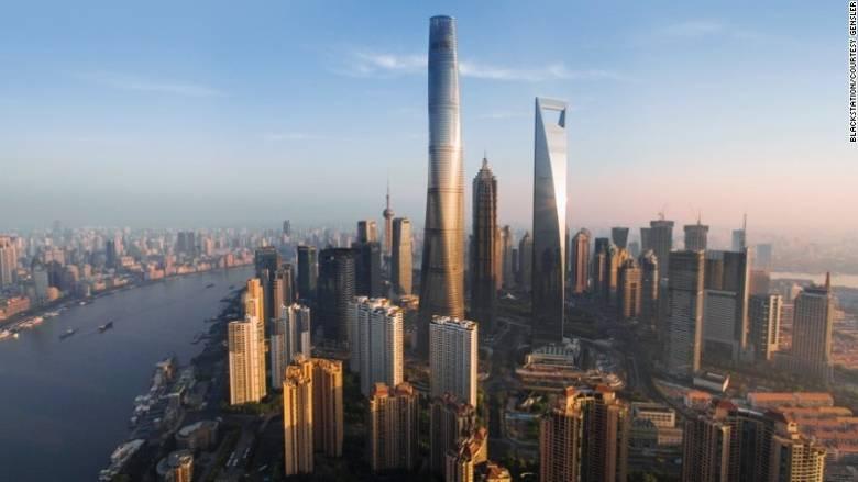 Το δεύτερο ψηλότερο κτήριο στον κόσμο μόλις κατέκτησε τρία ρεκόρ Γκίνες