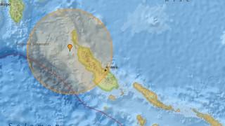 Σεισμός μεγέθους 6,1R στην Παπούα Νέα Γουινέα