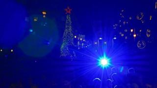 Φωταγωγήθηκε για τα Χριστούγεννα η Θεσσαλονίκη