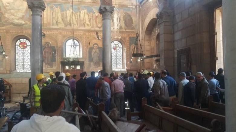 Έκρηξη με νεκρούς έξω από καθεδρικό ναό στο Κάιρο