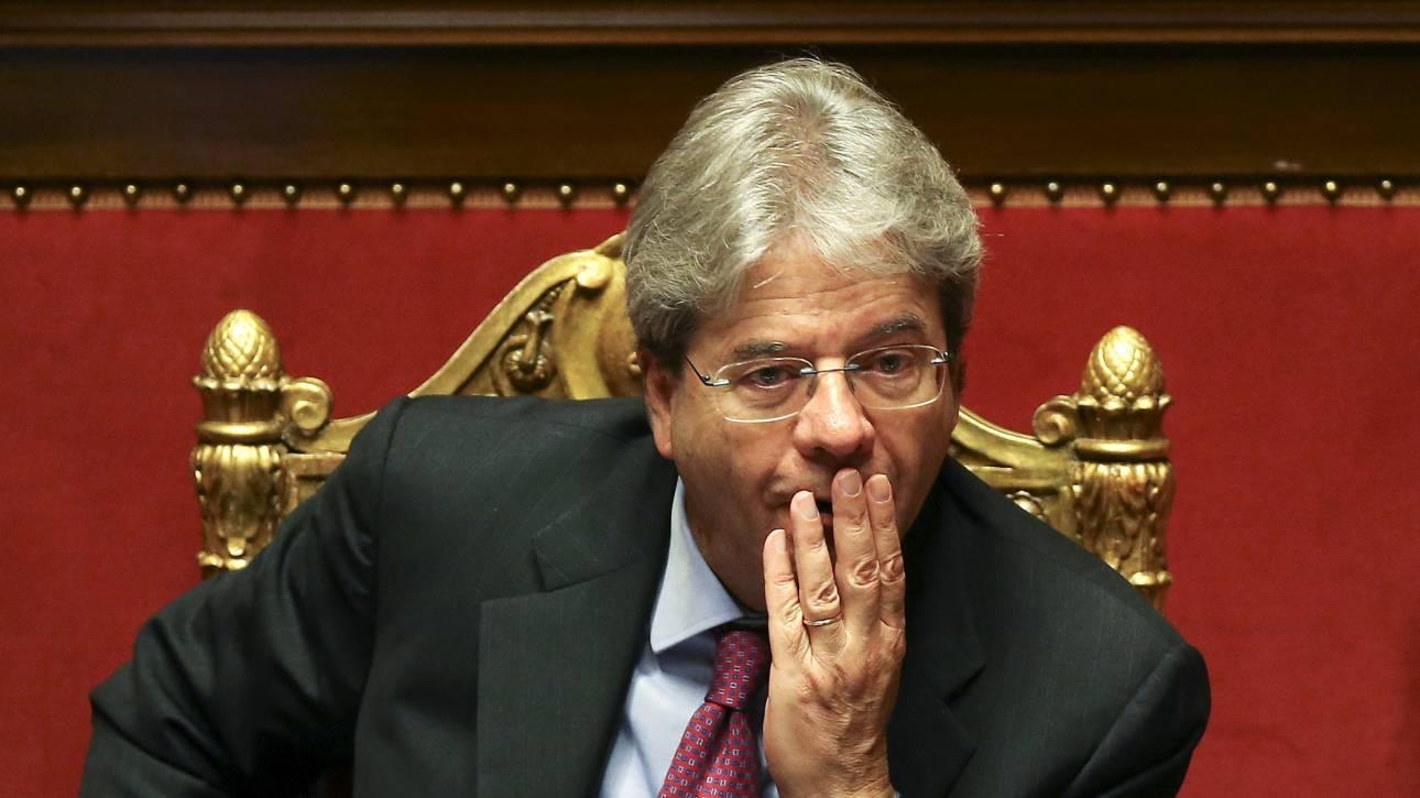 Ιταλία: Εντολή σχηματισμού κυβέρνησης στον Πάολο Τζεντιλόνι