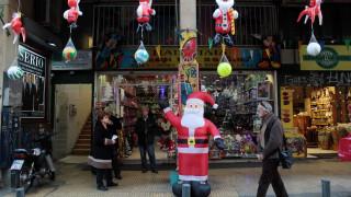 Εορταστικό ωράριο Χριστουγέννων: Ποιες μέρες είναι ανοιχτά τα καταστήματα