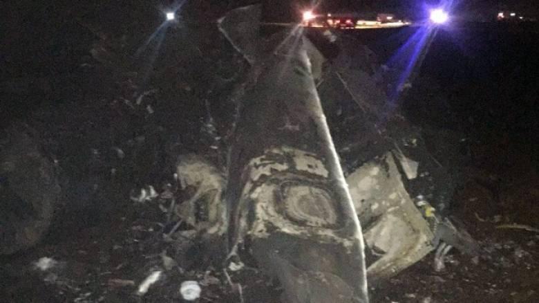 Τουρκία: Συνετρίβη μαχητικό αεροσκάφος F16