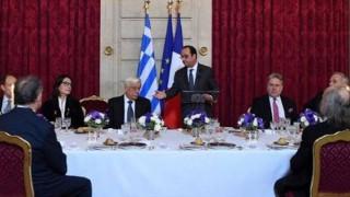Φρ. Ολάντ: Η Ευρώπη να τηρήσει τις δεσμεύσεις της απέναντι στην Ελλάδα