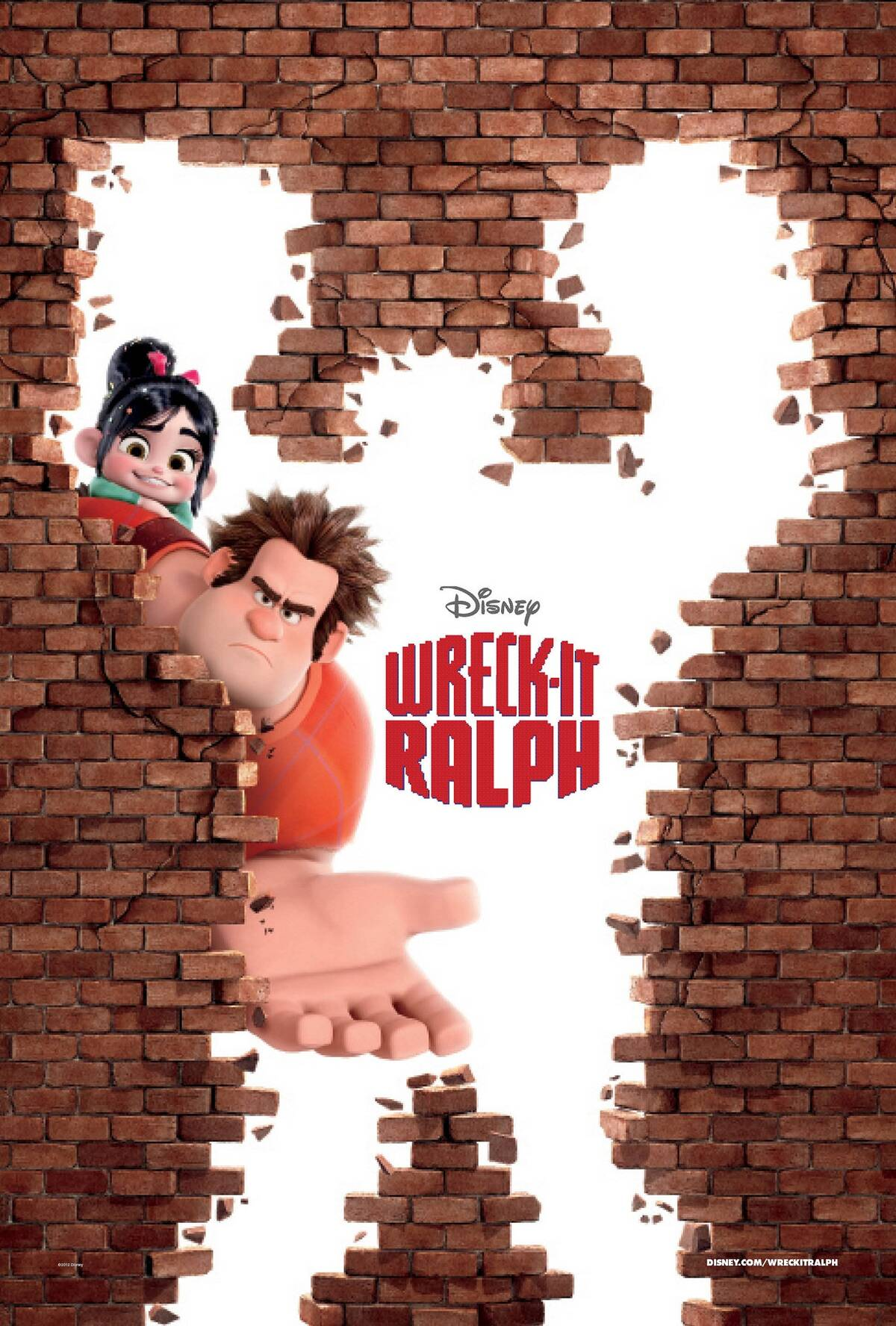 COSMOTE TV Disney Wreck it Ralph copy