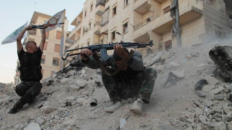 Σφοδροί βομβαρδισμοί στο Χαλέπι (pics&vid)