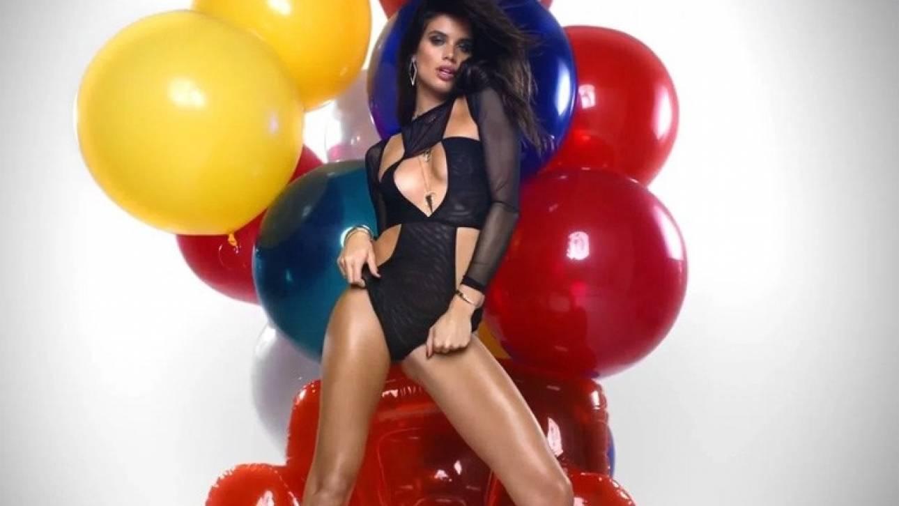 H Sara Sampaio σε εορταστική έκδοση για το LOVE. Bonus; Όλες τους