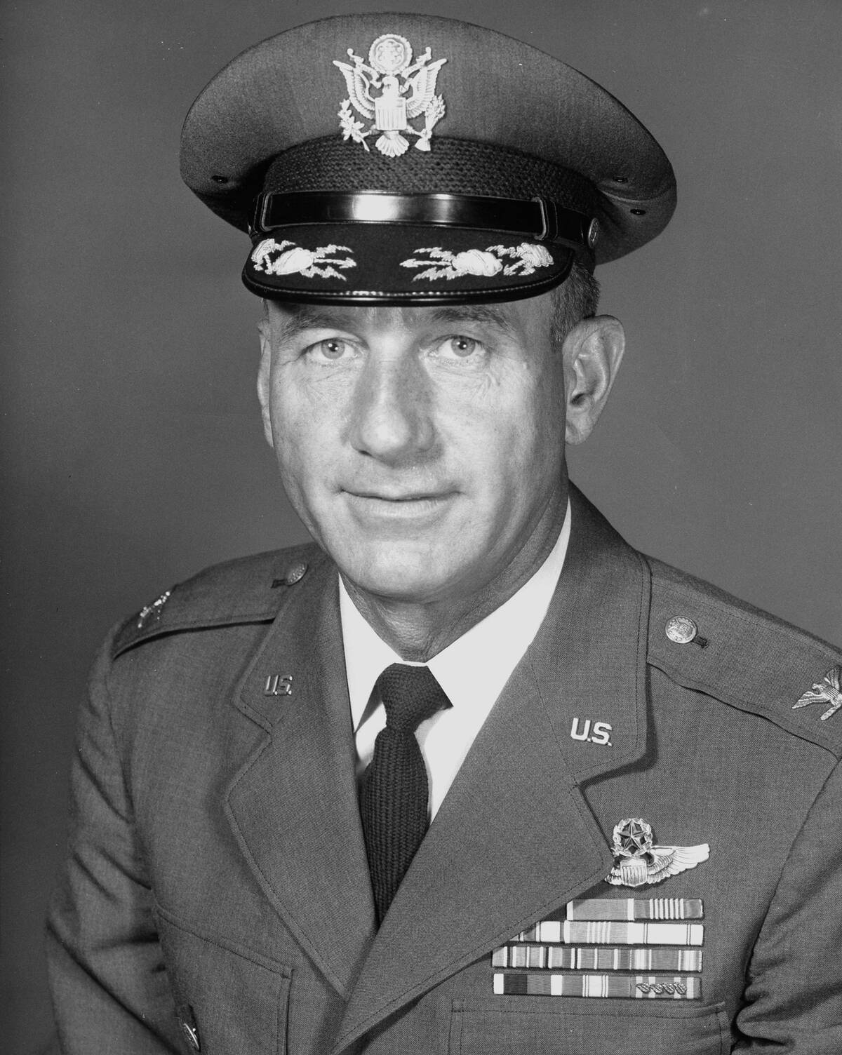 The Santa Colonel US Air Force Colonel Harry Shoup