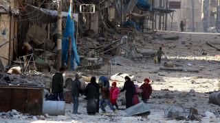 Η Γερμανία απειλεί τη Ρωσία με κυρώσεις για το Χαλέπι